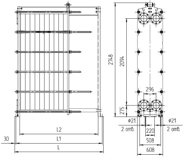 Пластинчатые теплообменники дытнерский цена теплообменник t2-bfg
