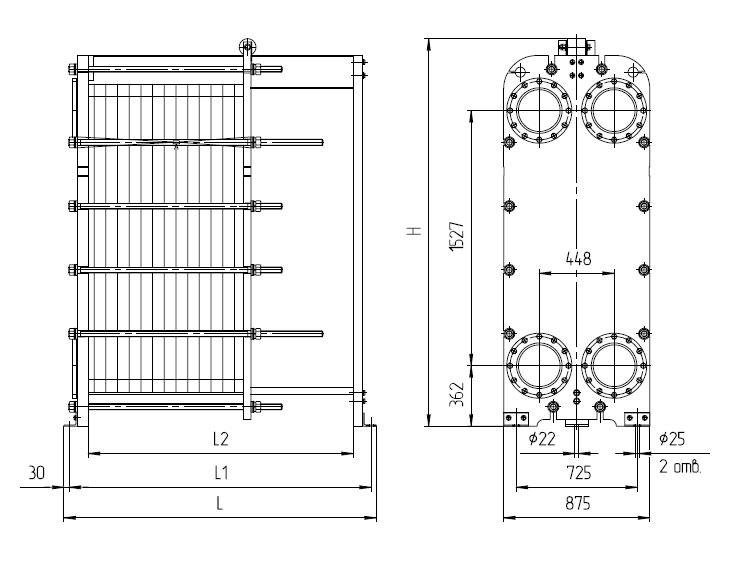 Пластинчатый теплообменник нн n рекуператор теплообменник